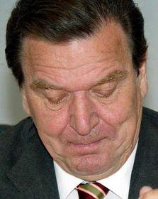 Německý kancléř Gerhard Schröder, foto: ČTK