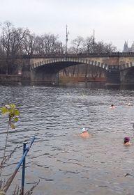 Тренировочный заплыв, Фото: Ольга Васинкевич, Чешское радио - Радио Прага