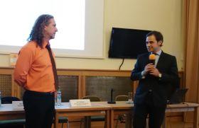 Raúl Pérez López y José Miguel de Lara, foto: Enrique Molina
