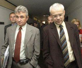 Milan Stech y Vladimir Spidla, foto: CTK