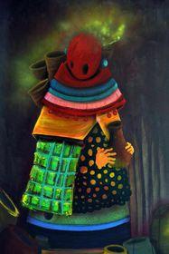Pintura de Giovanni Acevedo, foto: Latin Art Gallery