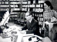 Alexander Dubček and Margita Kollarová