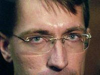 Redaktor Jiří Hynek, Foto: CTK