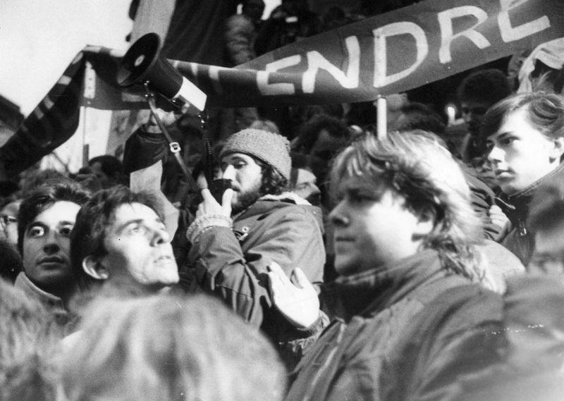 Бархатная революция, Фото: Archiv Jiřího Venclíka, ÚSTR