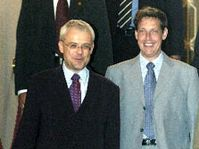 Vladimír Špidla (vlevo) a Stanislav Gross, foto: ČTK