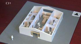 Diseño de la cárcel sin rejas, foto: ČT