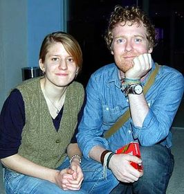 Markéta Irglová et Glen Hansard, photo: CTK