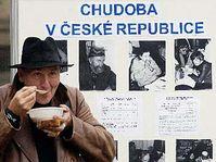 Z pražského happeningu k Mezinárodnímu dni za vymýcení chudoby, foto: ČTK