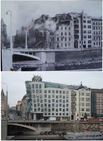 Rašín-Kai 1945 und 2010 (Foto: Speedbump49, Wikimedia Commons, CC0 1.0)