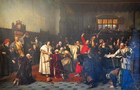 Volba Jiřího zPoděbrad králem, zdroj: Wikimedia Commons, CC0