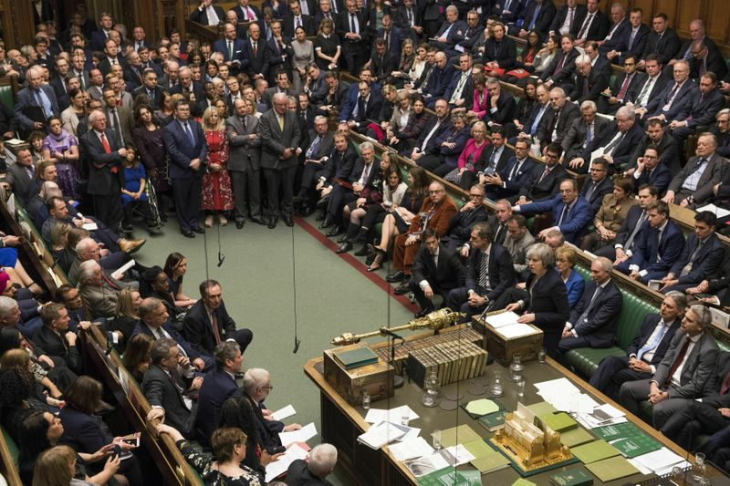 Photo: Mark Duffy, House of Commons ČTK/AP