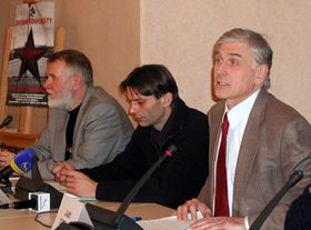 Desde la izquierda: Jaromir Stetina, Martin Mejstrik y Jan Urban (Foto: Martina Schneibergova)