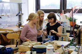 Creación de joyas, foto: Archivo del ArtCamp