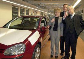 Владимир Шпидла посетил VW-центр (Фото: ЧТК)