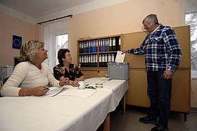 Referéndum en Trokavec (Foto: CTK)