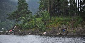 Victims of a mass shooting on Utöya island, July 22 2011, photo: CTK