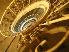 La escalera de Santini, foto: Archivo del Instituto Checo de Patrimonio Nacional