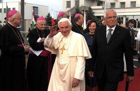L'unique visite de Benoît XVI en République tchèque, photo: Présidence de la République tchèque