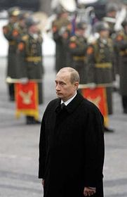 Presidente de la Federación Rusa, Vladimir Putin (Foto: CTK)
