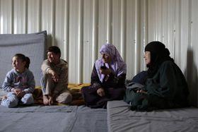 Flüchtlinge aus Syrien (Foto: ČTK)