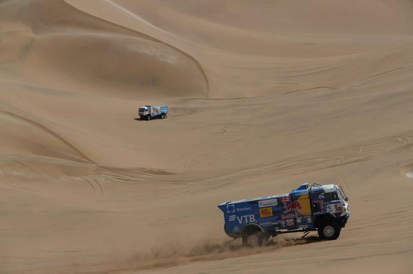 Rallye Dakar 2019 (Foto: ČTK / AP Photo / Ricardo Mazalan)