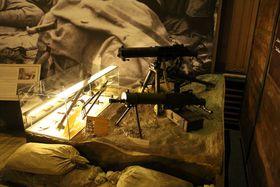 La exposición 'En las Trincheras de la Primera Guerra Mundial', foto: Archivo del Instituto de Historia Militar de Praga