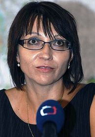 Brigita Bilíková, photo: CTK