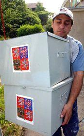 Подготовка к выборам в Усти над Лабем (Фото: ЧТК)