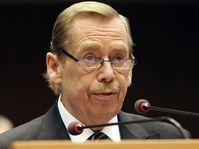 Václav Havel en el Parlamento Europeo, foto: ČTK