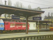 Estación de Kolín, foto: Nelson Pérez, Panoramio, CC BY-SA 3.0