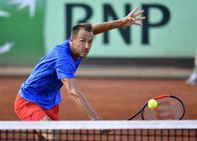 Lukáš Rosol, foto: ČTK / Tibor Illyes/MTI via AP