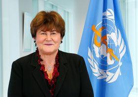 Zsuzsanna Jakab, fuente: WHO/Franz Henriksen