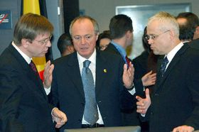 Саммит в Брюсселе, направо: Владимир Шпидла (Фото: ЧТК)