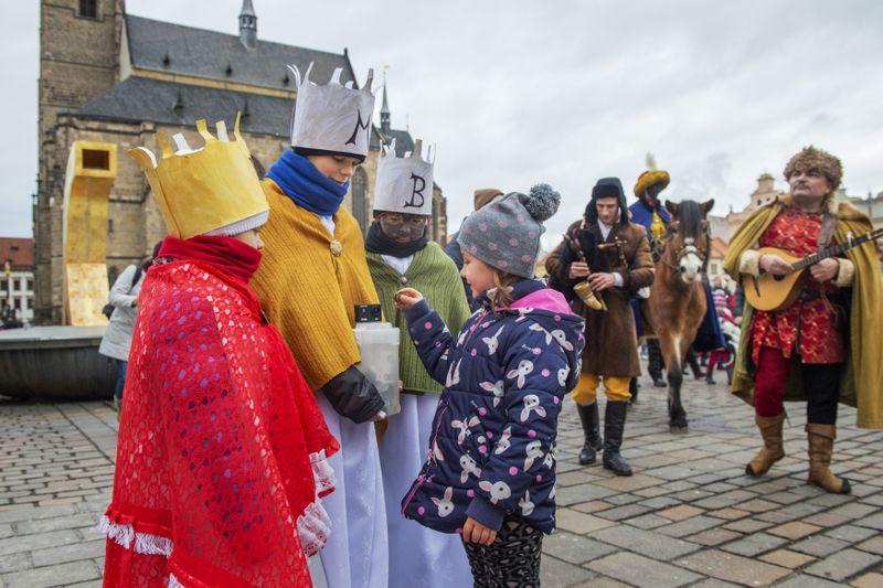 Благотворительный сбор «Три короля», фото: ЧТК / Мирослав Халоупка