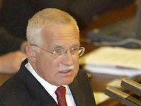 Prezident Václav Klaus se zúčastnil 16. října v Praze jednání Poslanecké sněmovny, foto: ČTK