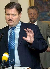 Ministro de Trabajo y Asuntos Sociales, Zdenek Skromach (Foto: CTK)