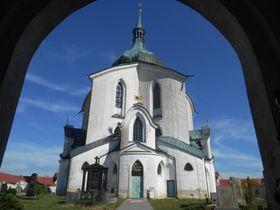 Church of St John of Nepomuk in Žďár nad Sázavou, photo: Magdalena Kašubová