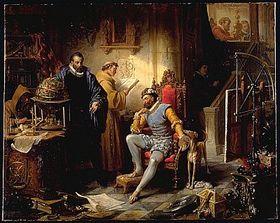 Tycho Brahe y Rodolfo II.