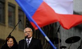 Livia y Václav Klaus, foto: ČTK