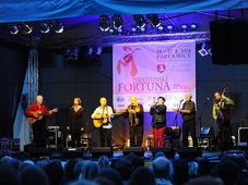 Spirituál kvintet в городе Пардубице, фото: Ян Птачек - Чешское радио