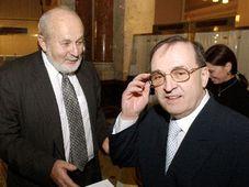 Frantisek Janouch et Jiri Grusa (Photo: CTK)