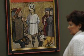 Jan Hus au bûcher, photo: CTK