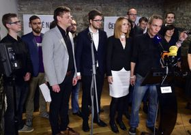 The Czech Pirate Party, photo: ČTK