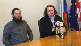 David Syrovátka und Petr Koura (Foto: Gabriela Hauptvogelová, Archiv des Tschechischen Rundfunks)