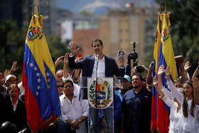 Juan Guaidó, Caracas, foto: ČTK/AP/Fernando Llano