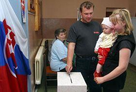 Plebiscito en Eslovaquia, foto: CTK