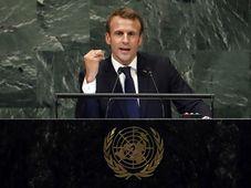 Emmanuel Macron, photo: Richard Drew/AP/ČTK