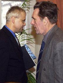 Vladimír Spidla y Jan Sokol, foto: CTK