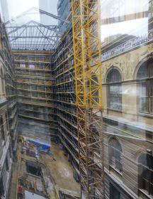 Реконструкция здания Национального музея, фото: Ивана Вондеркова