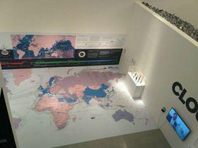 Big Bang Data en la galería DOX, foto: Dominika Bernáthová